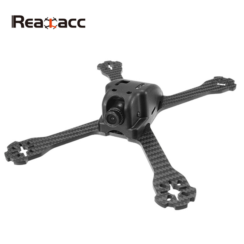 Realacc XS220E 4mm Thickness Carbon Fiber Frame Kit for Multirotor RC Drones With HD Camera FPV Quadcopter DIY Frame Spare Parts jmt j510 510mm carbon fiber 4 axis foldable rack frame kit with high tripod for diy helicopter rc airplane aircraft spare parts