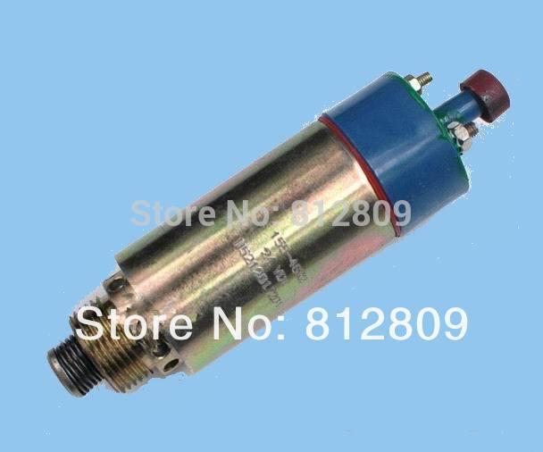 Fuel Shutdown Shutoff Stop Solenoid Valve 155-4652 8C-3663 24V 125-5772 e325 excavator flameout switch stop solenoid 155 4652 8c 3663 24v 2pcs lot