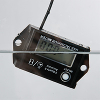 Free Shipping Digital Resettable Waterproof Hour Meter Gasoline Engine Tachometer RL HM026