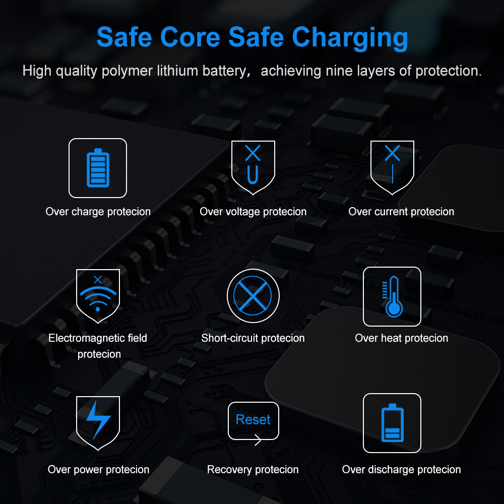 FLOVEME Power Bank 10000mAh Portable Charger For Samsung Xiaomi mi Mobile External Battery Powerbank 10000 mAh Poverbank Phone 4