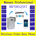 High Quality WIFI Magnetic Lock Waterproof Video Door Phone Outdoor Monitor Intercom Doorbell with 720P PIR IP Camera ATZ-DBV01P