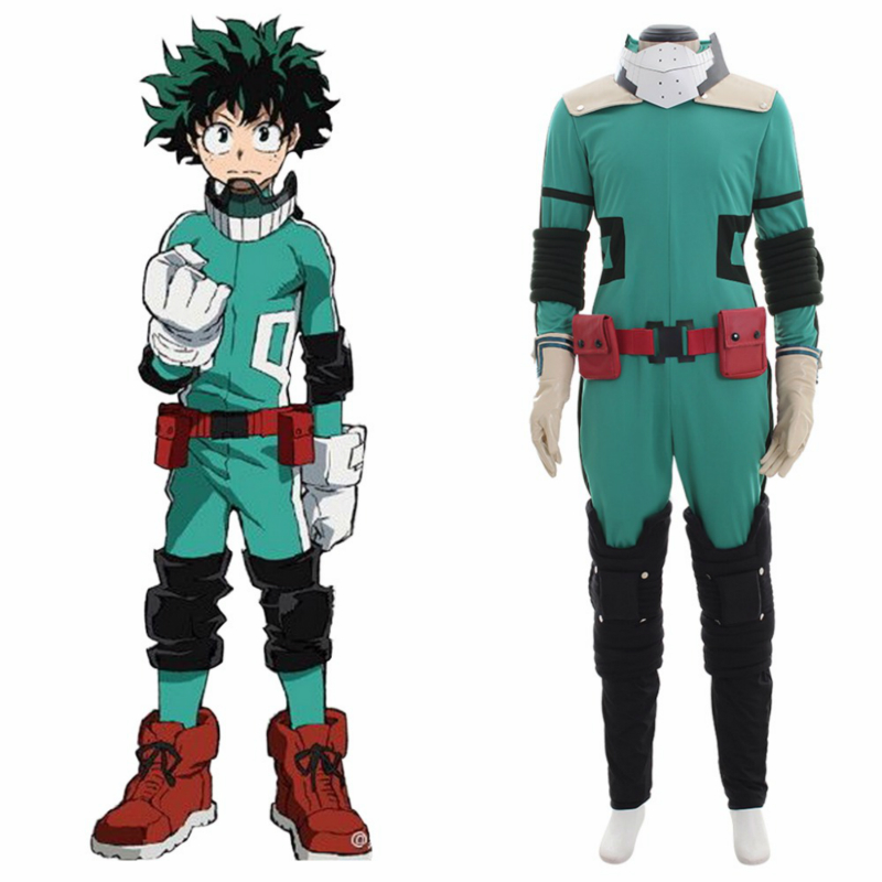 Anime Cosplay for Izuku Bakugou Boku No Hero Academia Vestidos New Japanese Costume for Men My Hero in Halloween Carnaval Party