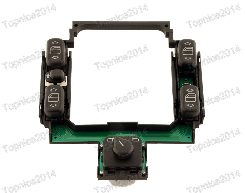 1Pcs New Power Window Center Control Master Switch Assembly 2028208210 For Benz C Class W202 1994
