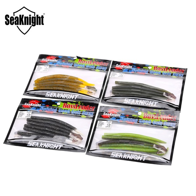 Seaknight Soft Lure SL018 6pcs Assorted Color