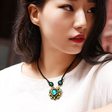 New found women sweater necklace  copper alloy pendant hot sales fashion jewelry accessories recommend girl gift XL160