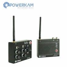 POWERKAM WL200 2.4G wireless pan tilt controller for 12V dc motors or camera jib camera head