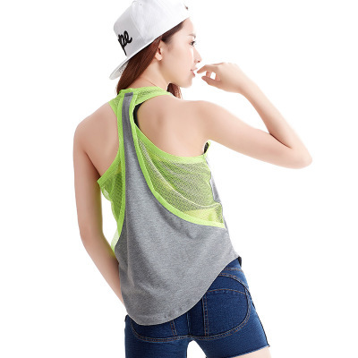 Women Tank Top Fitness Workout Tops Women Sleeveless Shirts Quick Drying Loose Vest