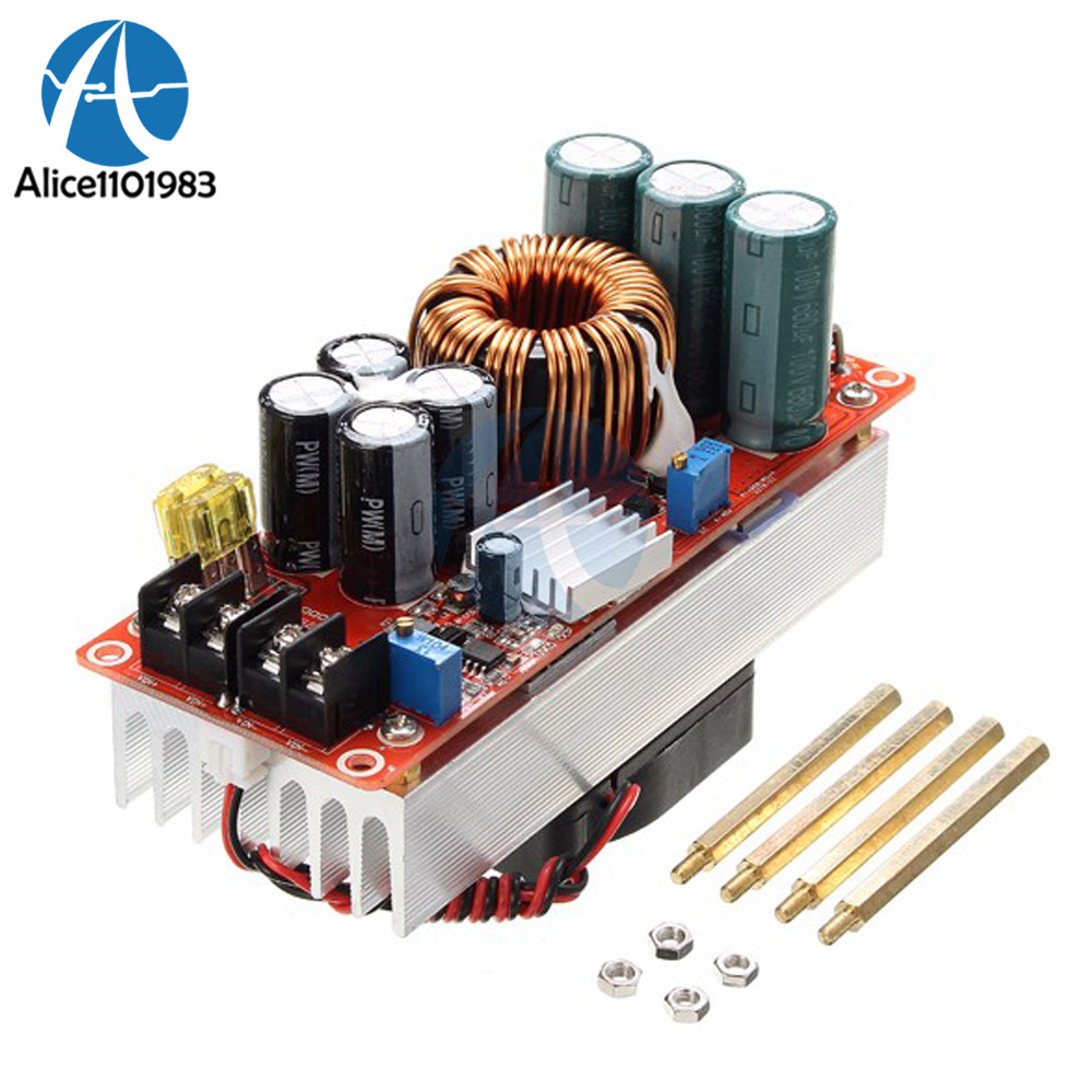 1800w 40a Cc Cv Boost Converter Dc Step Up Power Supply Circuit 1500w 30a Module Constant Current