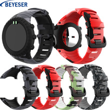 Watchband for Sunnto core silicone Replacement adjustment sport smart rubber watchstrap Suunto classic wristband