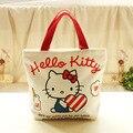 Hello Kitty Women Messenger Bags Shoulder Bag Shopping Handbag Clutch Bags Canvas Classic Cartoon Bag Kid Bolsas