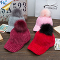 Chapéu Do Inverno Engrosse Corduroy Snapback do Boné de Beisebol Feminino das mulheres De Pele Pom Pom Gorros Polo Osso Esportes Caps Hip Hop Pompom chapéus