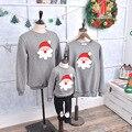 Оптовая Семья посмотрите соответствия мать дочь одежда зима плюс толстый бархат шею семья одежда рождественский свитер