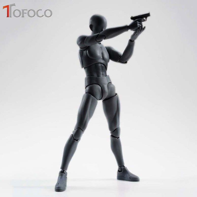 TOFOCO SHFiguarts BODY KUN / BODY CHAN body-chan body-kun Color PVC Action Figure Collectible Model Toy 6 Stype shfiguarts pvc body kun body chan body chan body kun grey color ver black action figure collectible model toy
