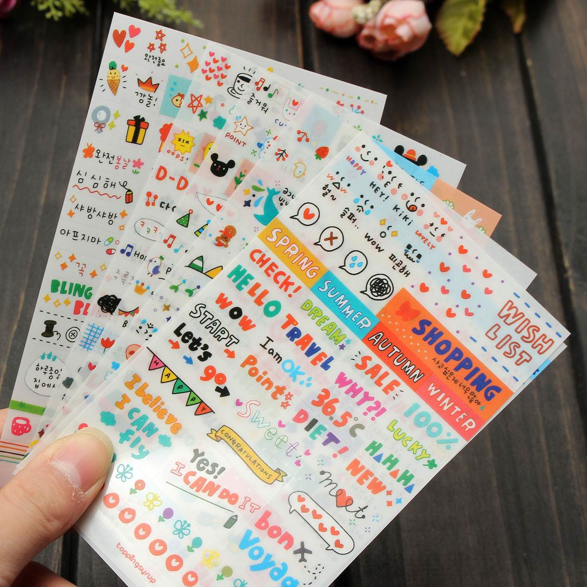 Scrapbook paper booklet - Aliexpress Com Buy 6 Sheets Pack Cute Diy Word Expression Diary Album Diy Scrapbooking Paper Sticker Book Calendar Card Scrapbooking From Reliable