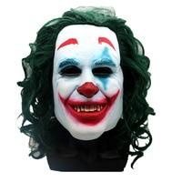 Batman The Clown Mask The Joker Latex Mask Halloween Cosplay Props High Quality