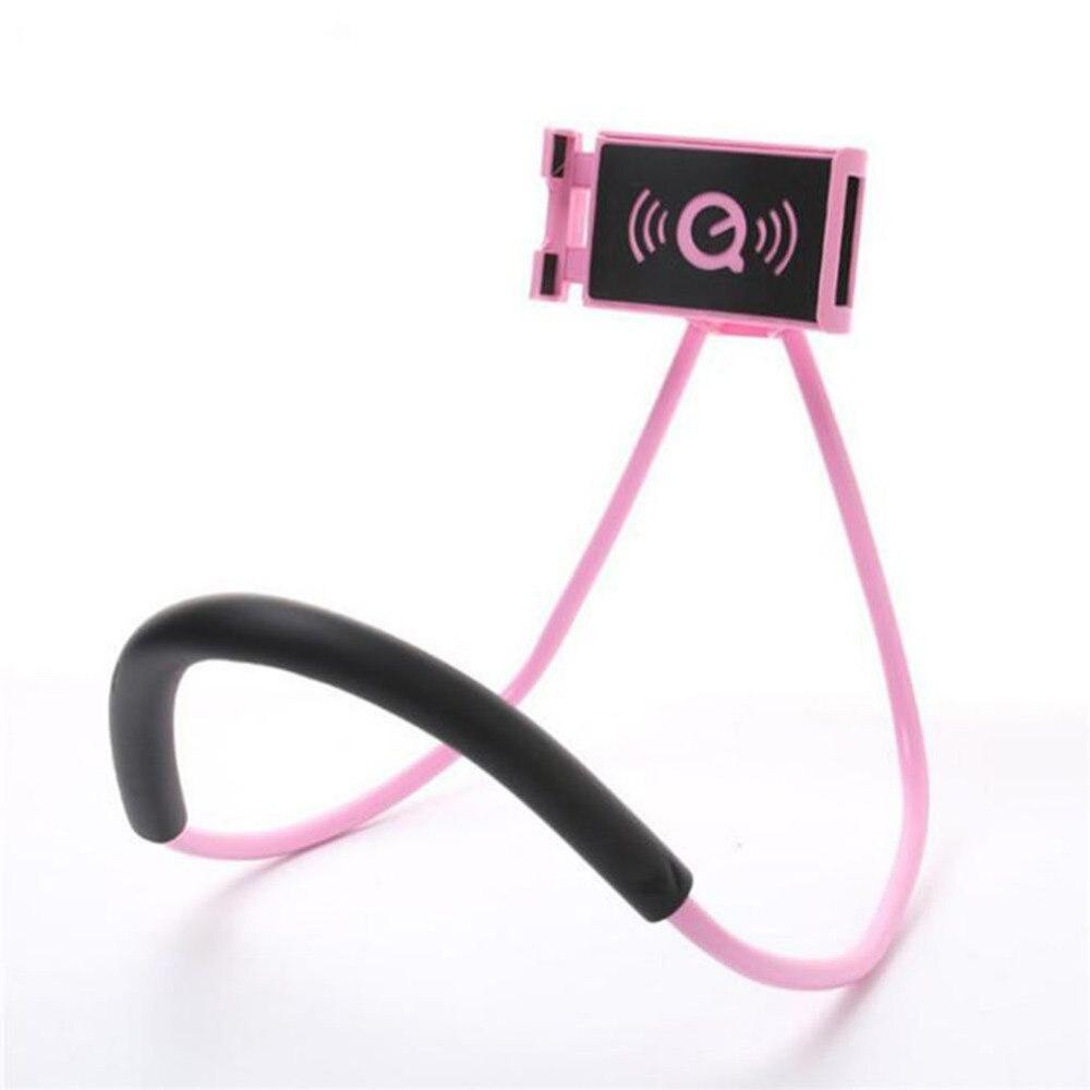 Kovader perezoso Universal cuello colgando titular soporte de teléfono móvil soporte de tableta Pad cuello soporte de serpiente Flexible