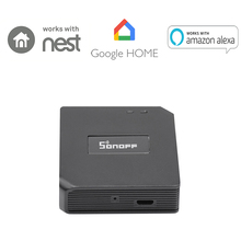 Sonoff RF Brigde WiFi 433Mhz Wireless Signal Converter For Smart Home Automation Works perfectly with Amazon Alexa, Google Home