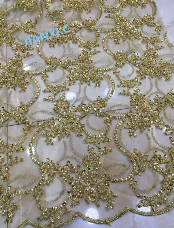 nice looking feather embroidery tulle mesh lace fabric Cyndi 8839 with good quality for party dress