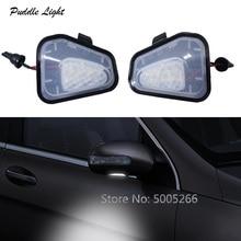 цена на Car Side Under Mirror  LED Puddle Light for Volkswagen VW CC EOS Passat 4motion Santana Passat B7 Passat CC Jetta Scirocco