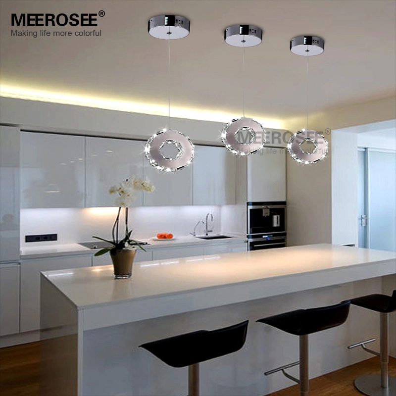 Free Shipping Modern Crystal LED Pendant Light Lustres LED Indoor Lighting 1 Ring Stair Aisle Porch Lamp Price for 1 PC Only цена и фото