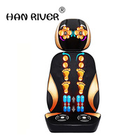 HANRIVER Massage chair massage cervical spine through massage cushion body multifunction pillow electric chair cushion