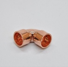76x18mm 90 degree elbow copper end feed plumbing pipe fitting for gas water oil