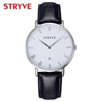 Hot Sale fashion Men Top luxury Brand Quartz Watch High Quality Business Leather men Colock Wristwatches Relojes Hombre