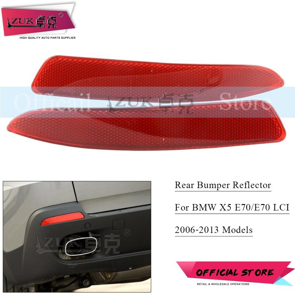 Rear Bumper Reflector Light Left Driver Side fits BMW X5 E70 LCI 2011 2012 2013