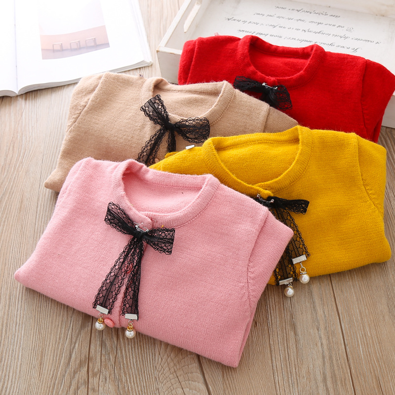 Image 5 - Cotton Baby Jacket Cardigan For girl Kids Sweater Korean Long Sleeve Coat Toddler Girls Knitted Outerwear Winter Autumn Clothes-in Jackets & Coats from Mother & Kids