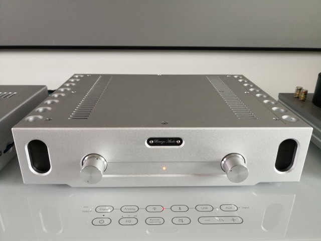Latest Hi End Power Amplifier Stereo HiFi Amp Reference Burmester 933 Circuit 130W*2