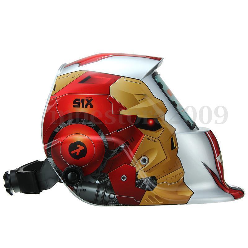 Профессиональный сварочный шлем с автоматическим затемнением, маска для шлифовки и сварки Tig, маска для дуговой сварки Mig, Tig, image selec Not