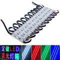 Светодиодный модуль пиксела свет 20-300 шт./заказ DC12V супер яркий 3 светодиодный s SMD 5050/WS2811 RGB Цвет Мечты IC Рекламные световые короба строка