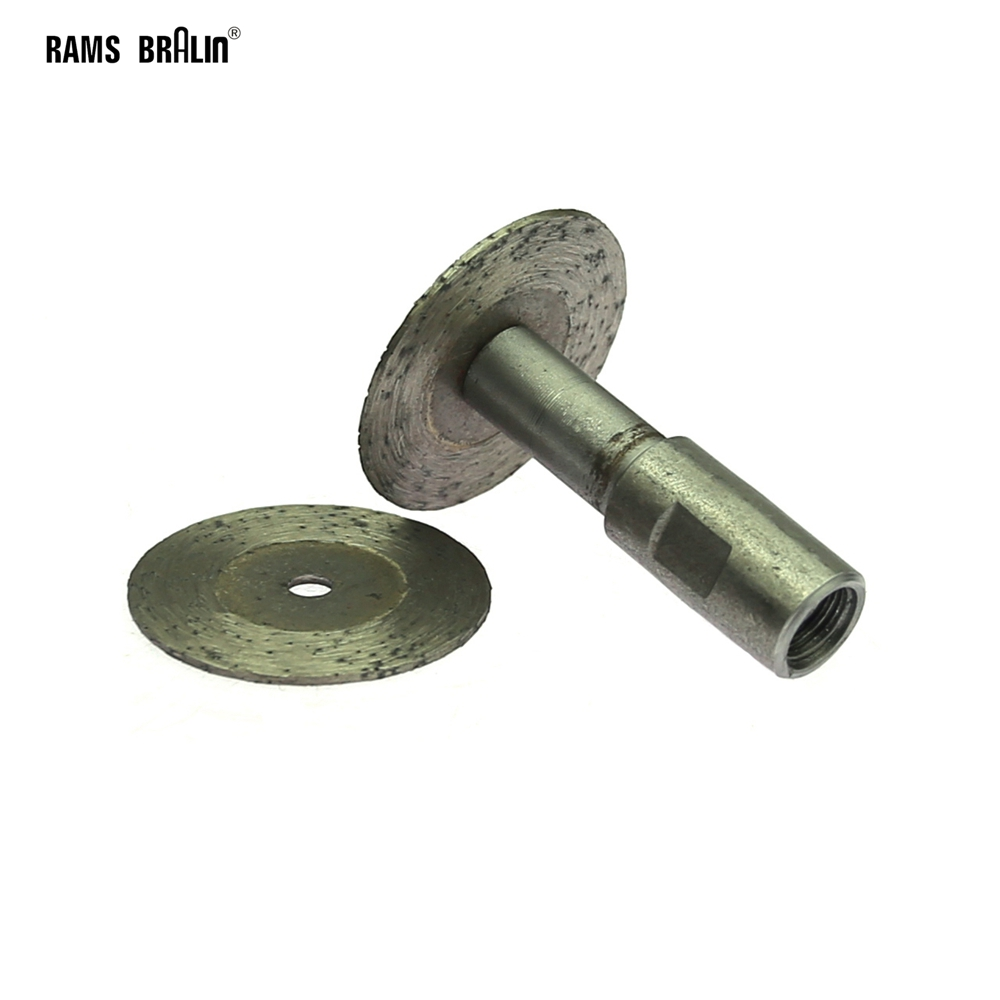 1 Piece Dia. 40mm Diamond Sintered Cutting Wheel M10 Grinder For Stone Carving Engraving
