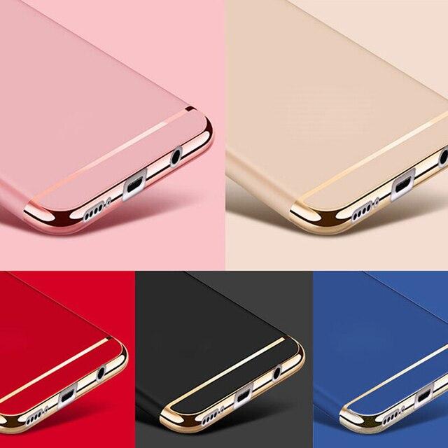 For Honor 10 9 8 Mate10 P20 P10 Plus Pro Lite P Smart P8 Lite 2017 Nova 2s in1 Full Body Hard PC Back Cover  Luxury Phone Case