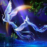Fly Wing To Wing Diy Diamond Painting 3d Cross Stitch Diamond Rhinestone Pasted Painting Crystal Resin