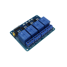 5V 4-Channel Relay Module Shield ARM PIC AVR DSP Electronic 5V 4 Channel Relay Module for arduino DIY KIT(China)