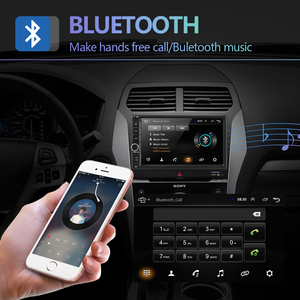 """Image 3 - Podofo 2din 7""""HD car radio Android 8.1 Car Multimedia Player GPS navi WIFI ISO Android Mirrorlink 2Din for Universal car stereo"""