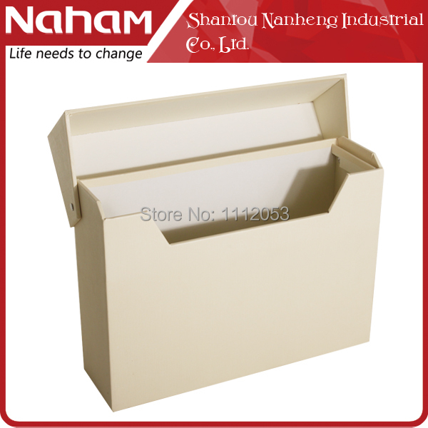 NAHAM Free Shipping Desktop Magazine Storage Box Stuff A4 Document File  Organizer With Lid In Magazine Organizer From Office U0026 School Supplies On  ...