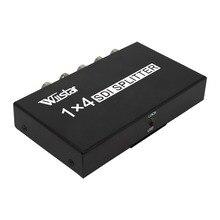 Wiistar SDI Splitter 1x4 Đa Phương Tiện Chia Mở Rộng Đầy Đủ HD 1080 P SDI 4 Cổng Splitter SD HD 3G SDI cho TV SDI Máy Ảnh