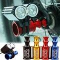 Велосипедный концентратор MUQZI  быстроразъемный держатель для передних колес  удлинитель для велосипедной лампы  защитный маяка