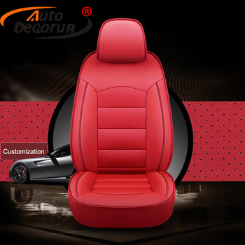 AutoDecorun Genuine Leather Automobiles Seat Covers for Infiniti Q70L Accessoires Seat Cover for Cars Cowhide Seats Protectors