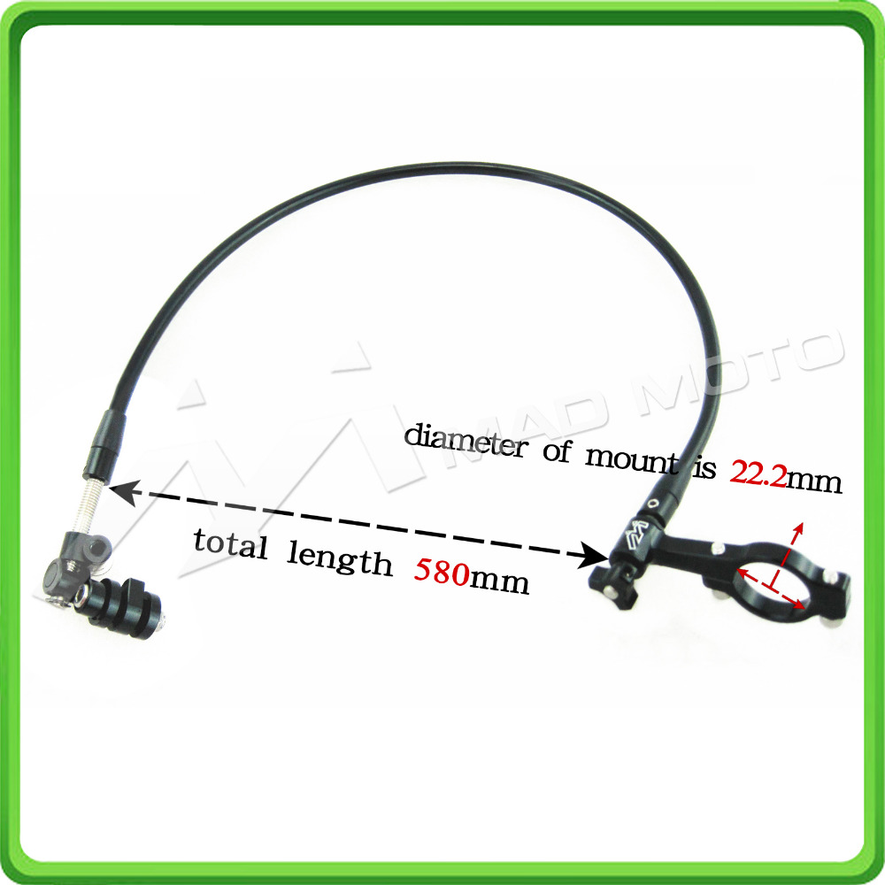 Remote adjuster cable for all adjustable brake levers, Remote Control Control for Brake Lever Hand Brake Lever Lever Black