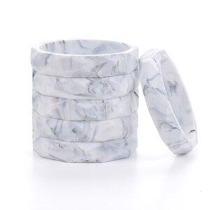 Image 4 - Großhandel 10 teile/los Marmor Silikon Baby Kinderkrankheiten Armband Mode Silikon Kinderkrankheiten Bangles Für Frauen Baby Kinderkrankheiten Chew Perlen