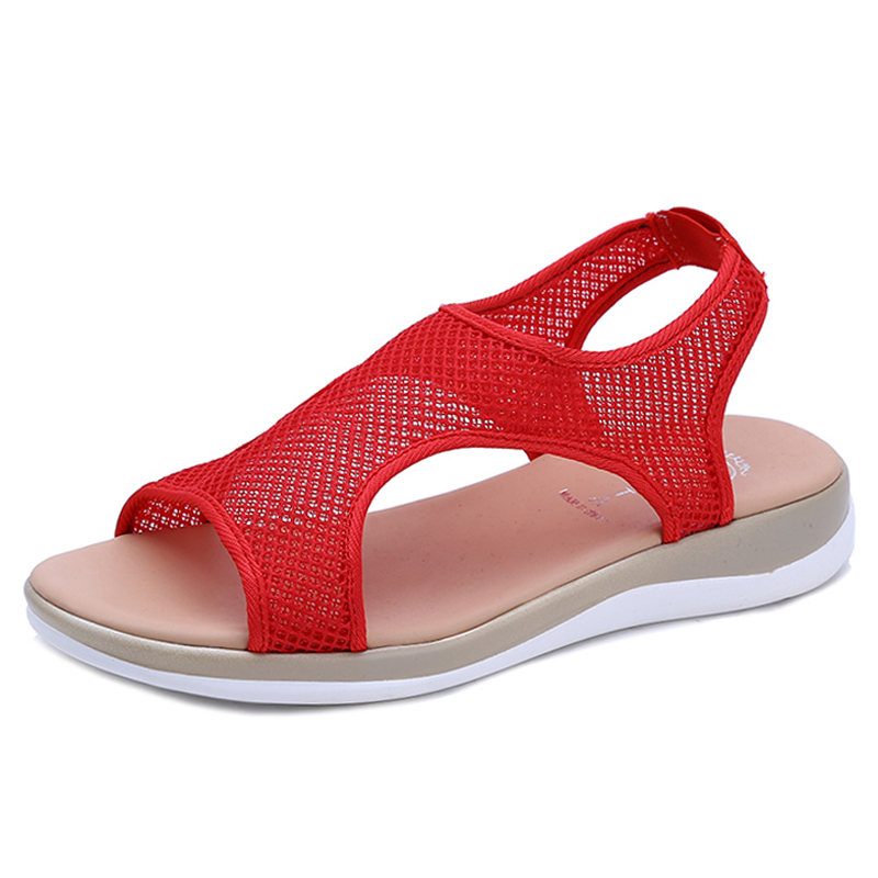Woman Sandals Summer Wedges Platform Shoes Women Open Toe Breathable Air Mesh Light and Handy Gladiator Ladies Fisherman Sandals 2018 rome shoes women sandals gladiator shoes woman wedges heel ladies sandals platform sandal mujer