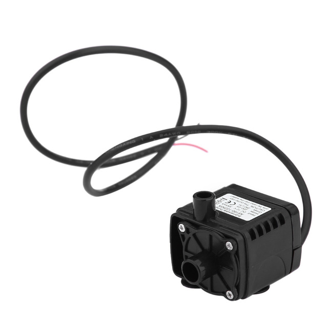 As180 12250a 12v Cpu Cooling Car Brushless Water Oil Pump Waterproof