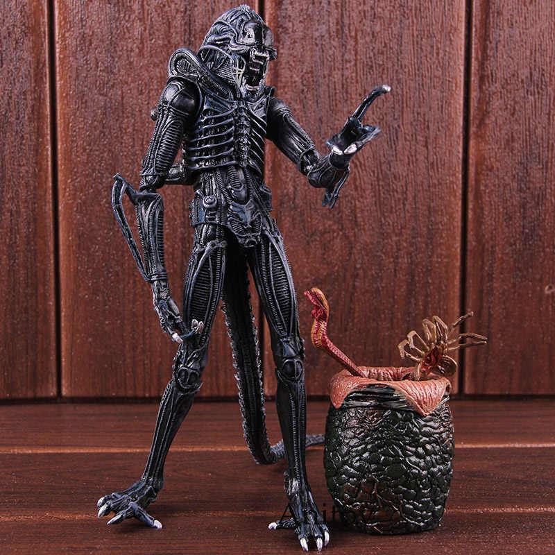 Alien 1986 Telur Chestburster Alien Faceguard Gambar Aksi PVC Collectible Model Mainan Boneka
