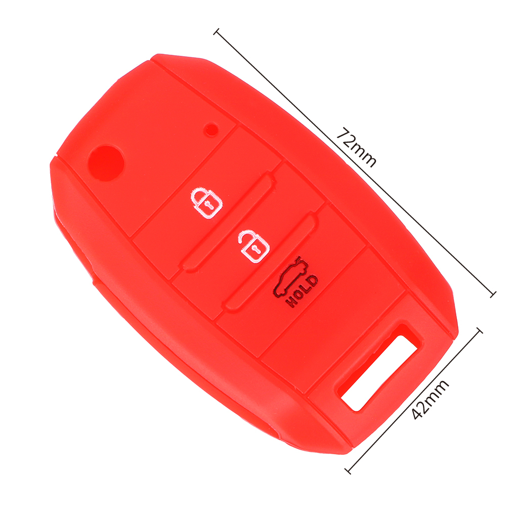 Image 5 - LEEPEE Car Key Case Shell Flip Folding Key Bag Cover Protector For KIA CEE'D Picanto Sorento Sportage Venga Rio Soul Carens-in Key Case for Car from Automobiles & Motorcycles