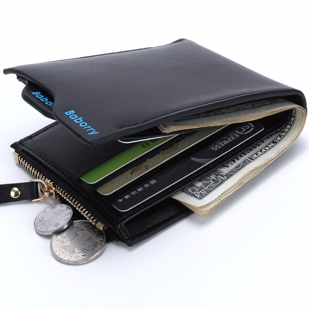 Coin Pocket Bag 2017 Hot Fashion men wallets Wallet ID Card holder Purse Clutch with zipper Men Wallet With Coin Bag Gift MJ-02 gas norton k