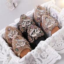 Women Pregnant Shoes Ballet Foldable Silver Flexible For Dri