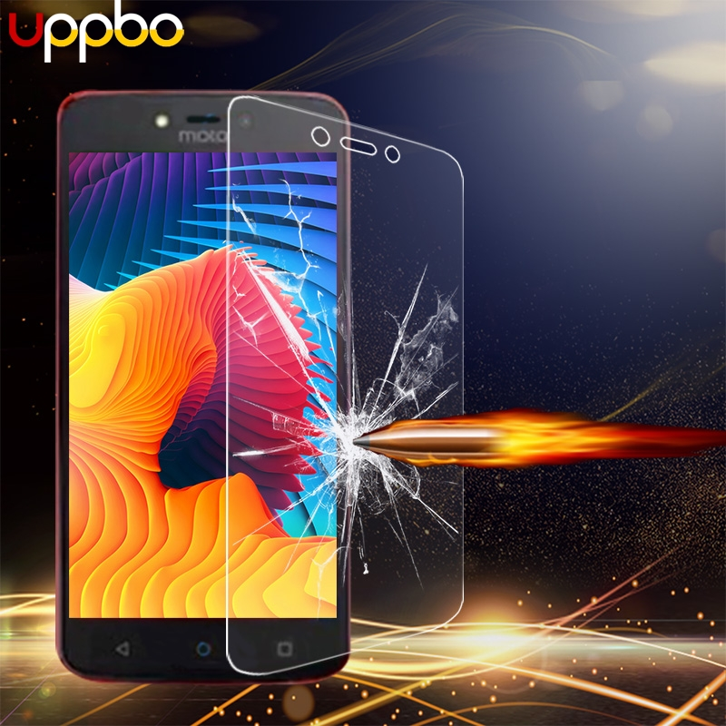 Uppbo <font><b>Screen</b></font> Protector Film For <font><b>Motorola</b></font> Moto C XT1755 XT1750 XT1758 XT1756 <font><b>XT1754</b></font> Tempered Glass Wholesale image